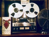 Music Tape to Tape Reel