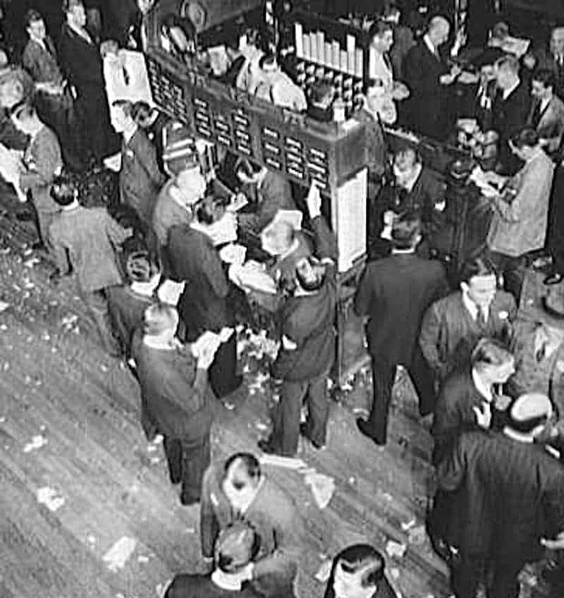 New York Stock Exchange 1939