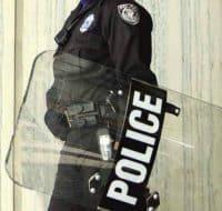 Police Riot Gear Enforcement