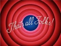 That's All Folks The End Final