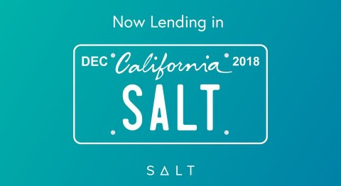 SALT Continues U.S. Expansion: Now Lending in California