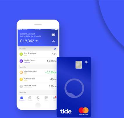 UK Challenger Bank Tide Secures £44.1 Million Through Series B Funding Round Led By SBI Group & Augmentum Fintech