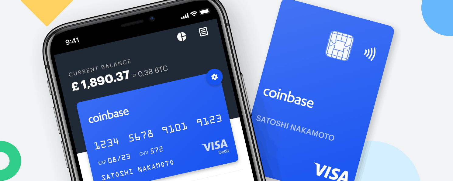 Coinbase Card Now Supports Five New Assets & Ten New Countries