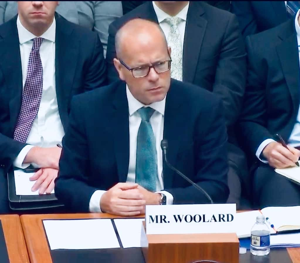 FCA Competition Director Christopher Woolard Testifies before House Committee Fintech Task Force