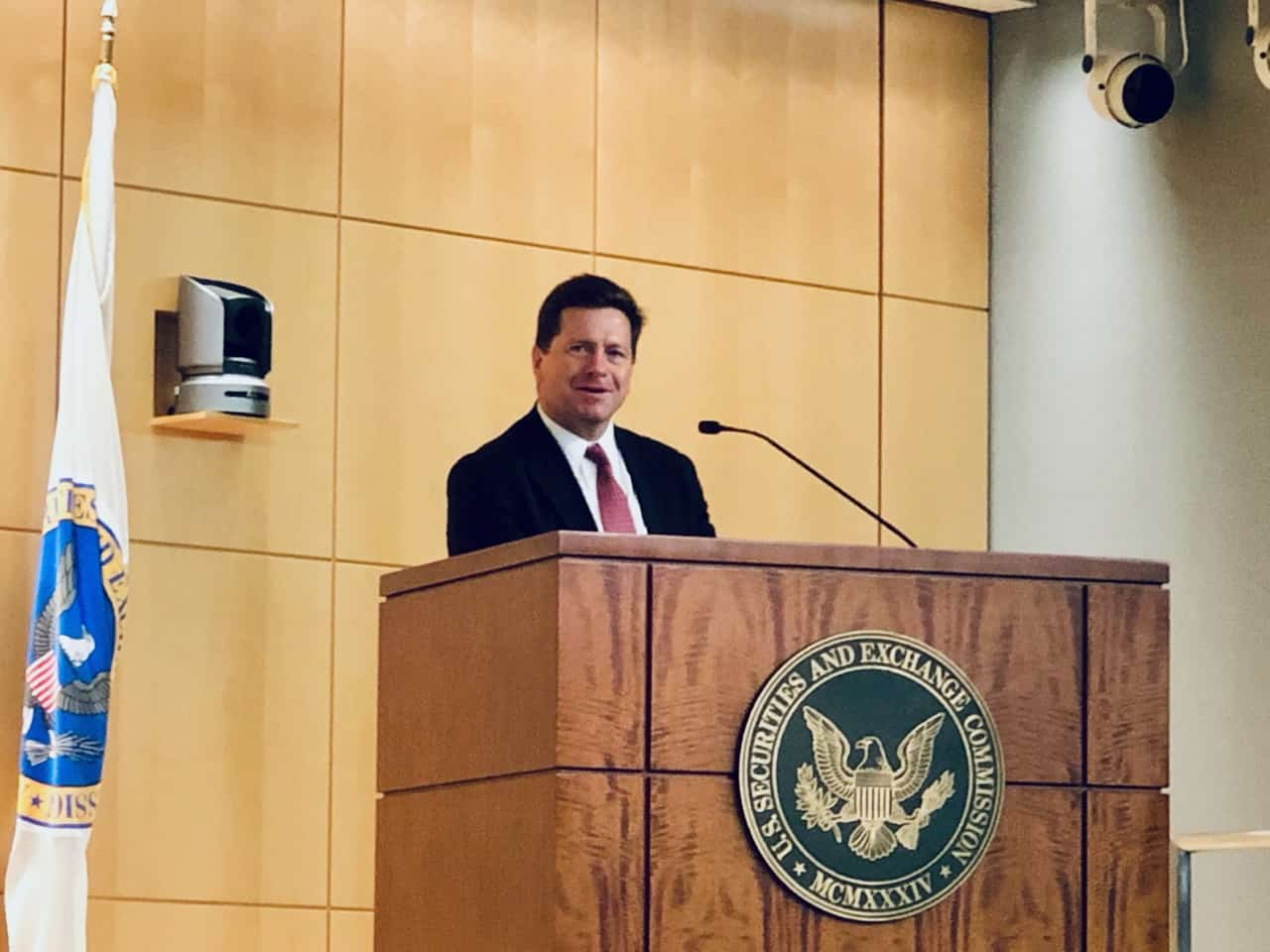SEC Chairman Jay Clayton: Main Street investors should be able to invest in the private market on terms similar to those available to institutional investors