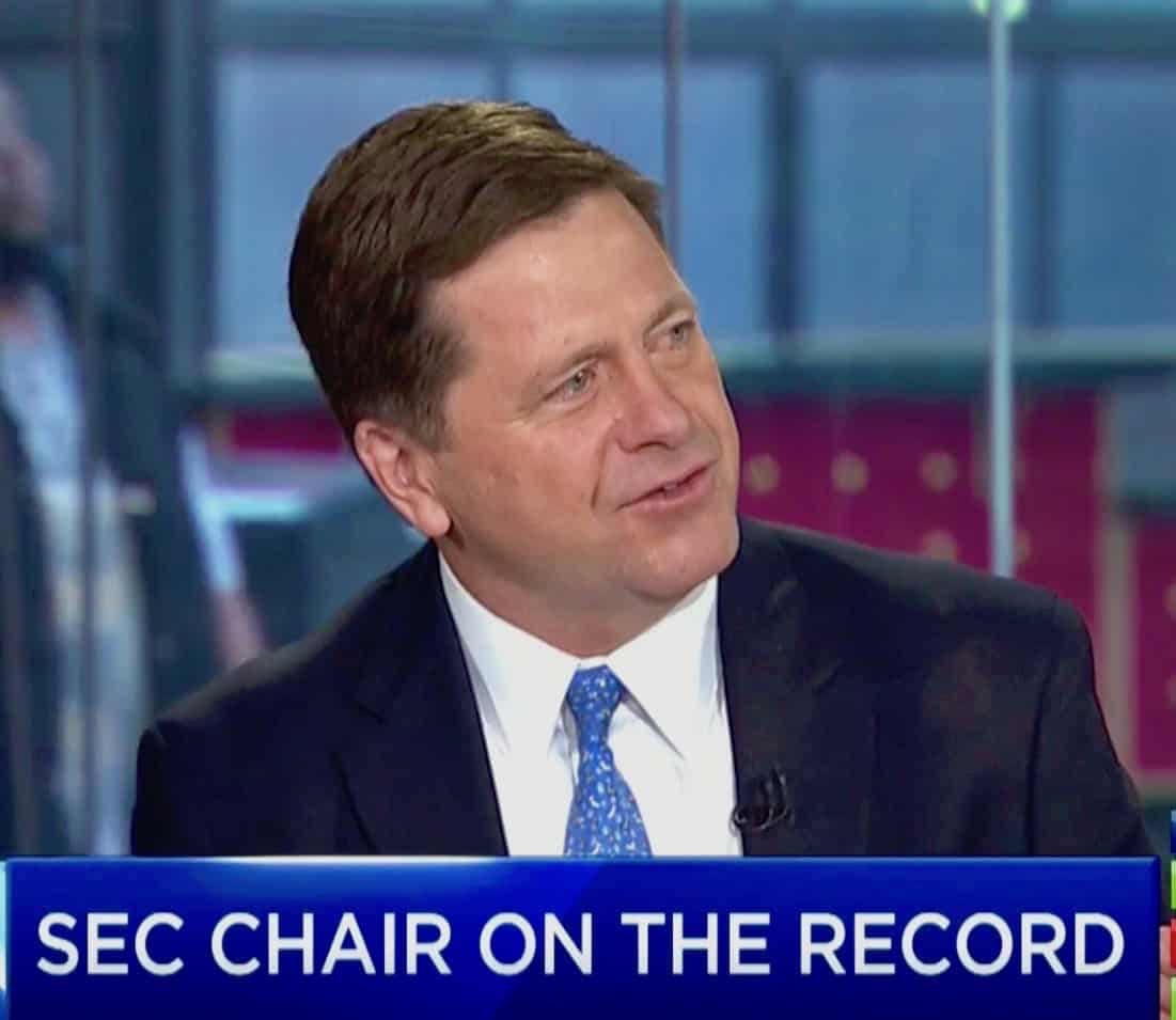 """SEC Chairman Jay Clayton Discusses Cryptocurrencies and New Rules Covering Broker-Dealers, Won't """"Just Flip a Switch"""" on Crypto"""