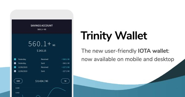"IOTA Launches Secure Wallet ""Trinity"" For Mobile & Desktop"