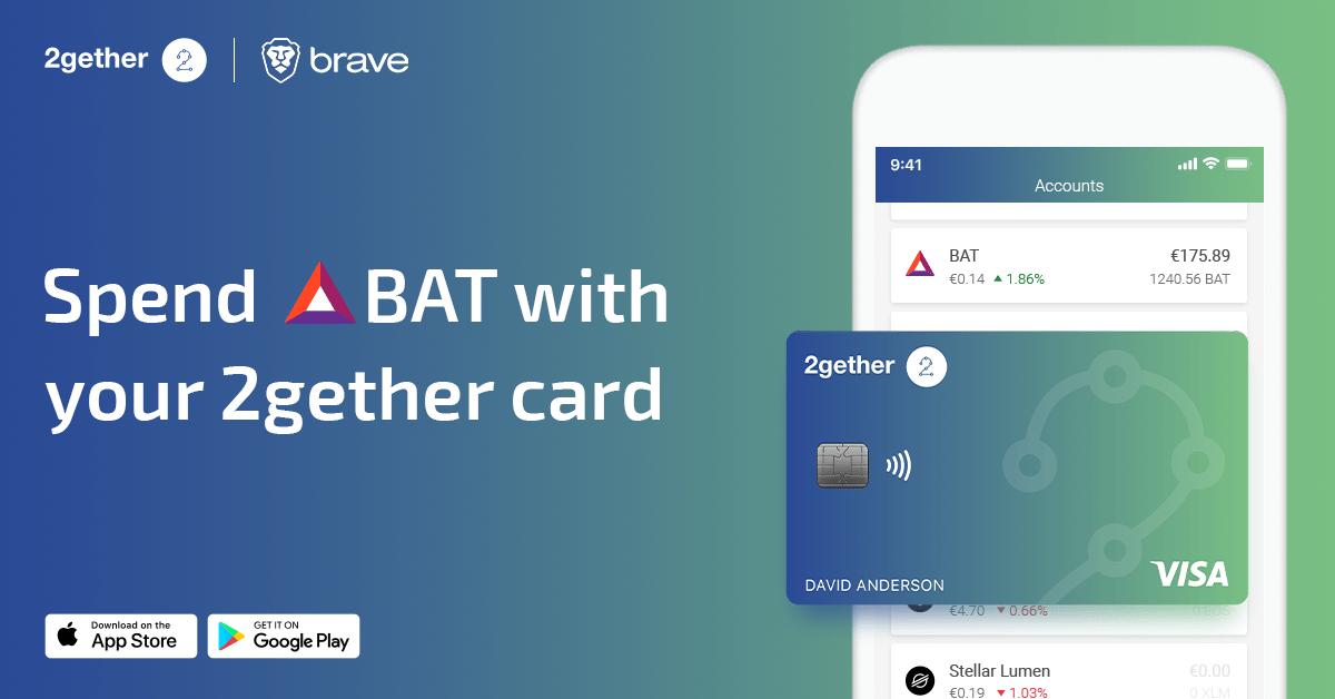 Digital Banking Platform 2gether Announces Integration With Ethereum Token Basic Attention Token