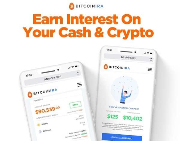 Bitcoin IRA Announces Crypto & Cash Interest-Earning Program