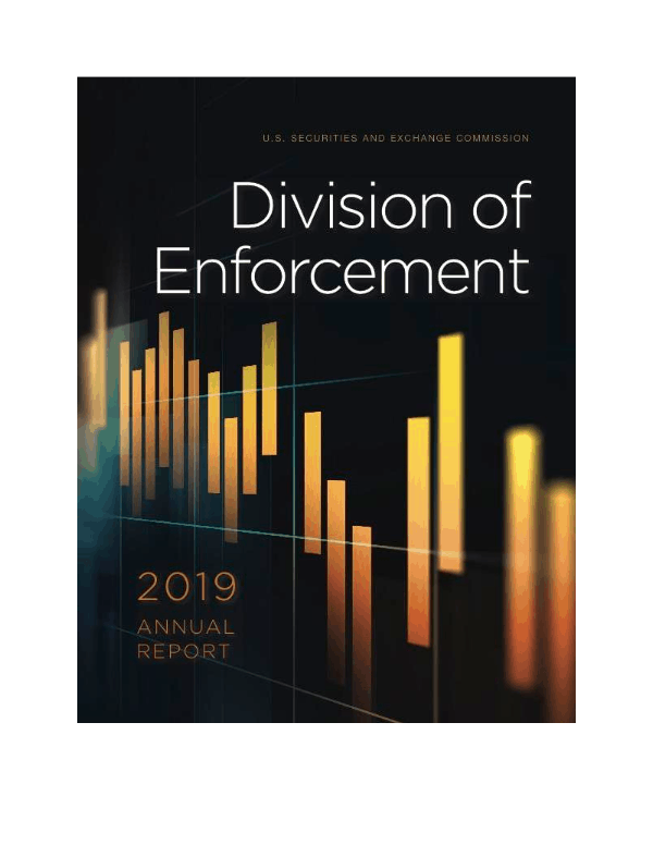 "SEC Division of Enforcement Annual Report: ""A diverse mix of 862 enforcement actions"" including ICOs and Digital Assets"