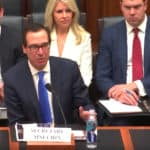 "US House Financial Services Committee: US Treasury Secretary Mnuchin Says ""No Need"" for Federal Digital Currency (CBDC)"